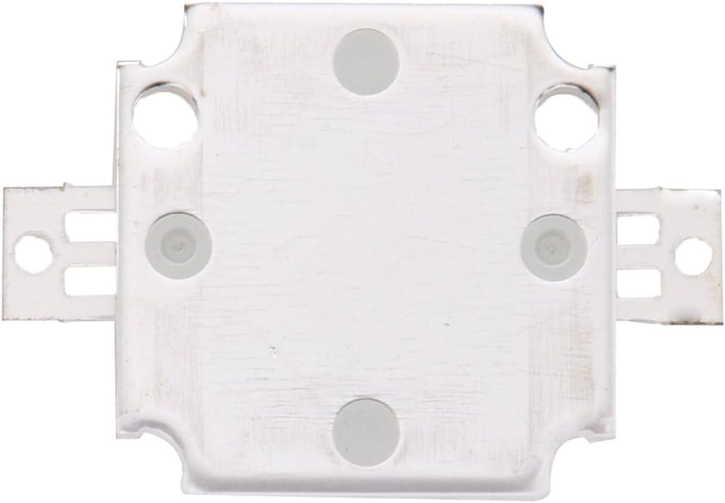 R SODIAL 20PCS 10W LED Pure White High Power 1100LM LED Lamp SMD Chip light Bulb DC 9-12V