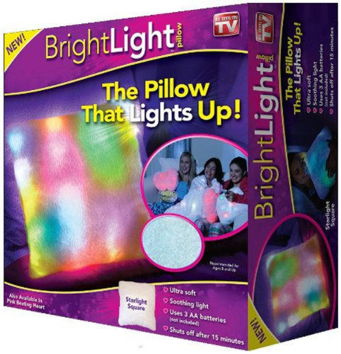 Bright Light Pillow As Seen On TV - Starlight Square (Blanket Up Light)