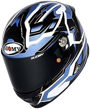Suomy kssr0010.5 Casco Moto, Azul, ...