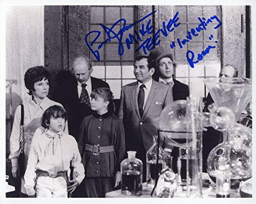 Paris Themmen - Mike Tee Vee from Willy Wonka - Autographed 8x10 Photo (Willy Wonka Photos)