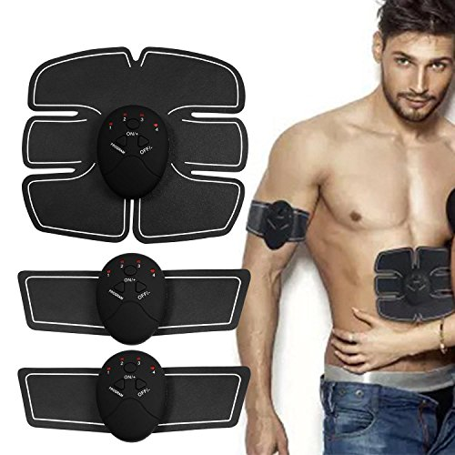 Acazon Muscle Toner Abdominal Toning Belt Waist Trimmer Smart Fitness Body Gym Workout (US STOCK) from Acazon