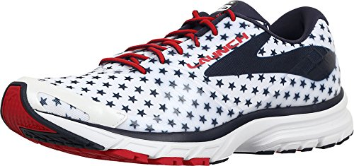 Peacoat Mens Brooks Launch Navy Red 3 White True R6w8xzwq