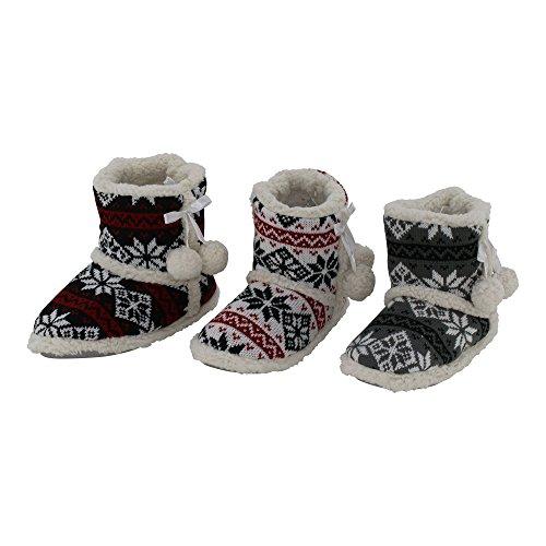 brandsseller - Zapatillas de estar por casa de Material Sintético para mujer Weiß