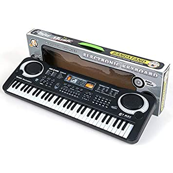 61 teclas de música digital teclado electrónico teclado juguete regalo piano eléctrico: Amazon.es: Instrumentos musicales