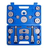 #4: Orion Motor Tech 21-Piece Universal Disc Brake Caliper Piston Compressor Wind Back Repair Tool Kit for Cars