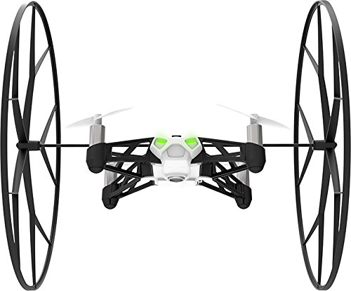 Parrot mini drone's rolling spider white by Parrot