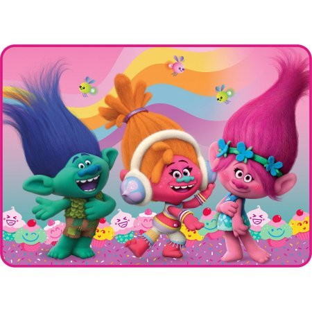 DreamWorks Trolls Area Rugs for Kids 30 x46  Inches