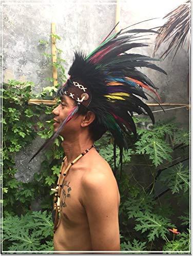 Feather Headdress Headdress Indian Native American War bonnet Feather Hat Punk