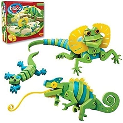 Bloco Toys - Lizards And Chameleons .HN#GG_634T6344 G134548TY9889 - Bloco Lizards