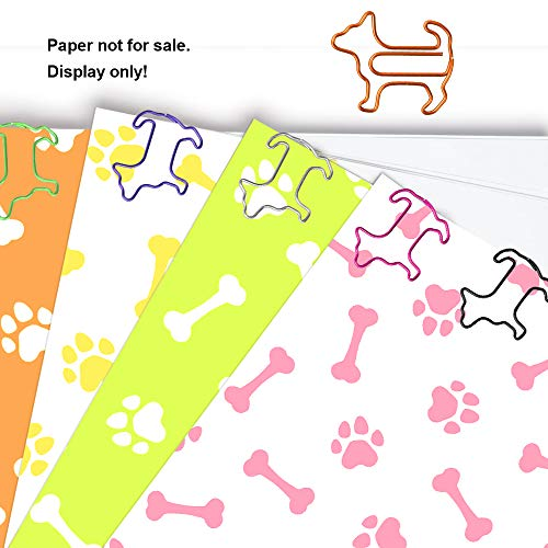 Paper Clips, Funny Dog Shape Paperclips for Office Supplier School Student, Secret Santa Gifts, Gag Gifts for Coworkers and Teacher Gifts.(60 pcs) Photo #5