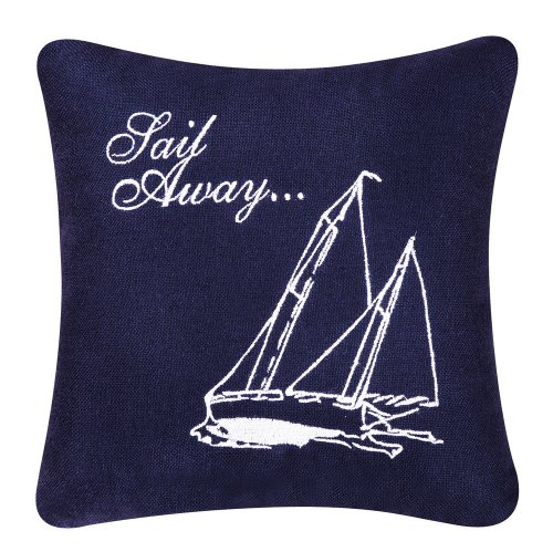 - C & F Enterprises Knotty Buoy Square Sail Away Pillow