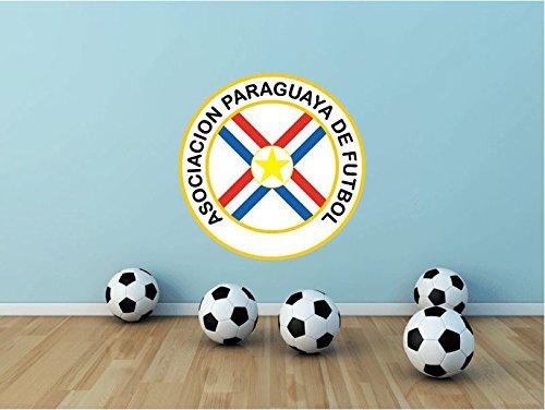 Paraguay National Team Soccer Football Sport Art Wall Decor Sticker 22