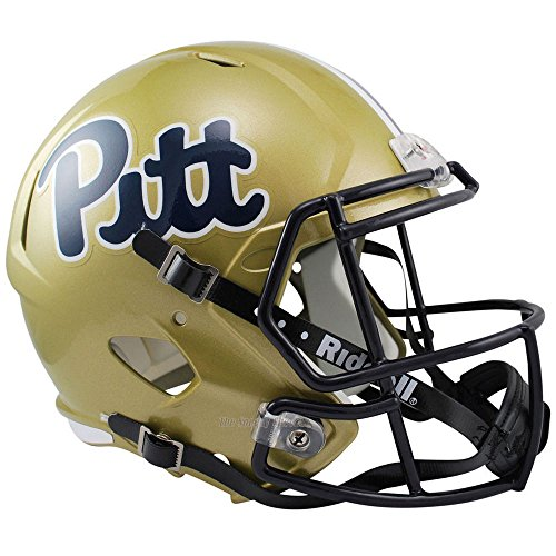 Pittsburgh Panthers Officially Licensed NCAA Speed Full Size Replica Football Helmet by Riddell