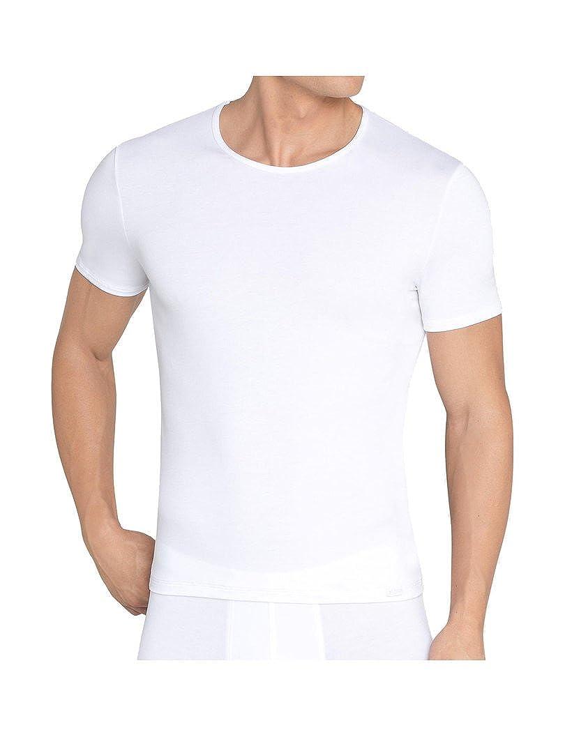 Weiß Sloggi Basic Soft Shirt 03 - 3er Pack Weiß 2XL