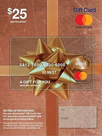 Amazon.com: Tarjeta de regalo de 25 USD Mastercard (más ...