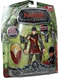 Disney Pictures The Chronicles of Narnia Prince Caspian 6.5 Inch Tall Action Figure - Edmund Pevensie with Over 20 Points of Articulation Plus Removable Sword, Shield and Armor
