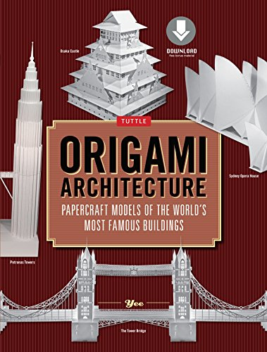 Origami Architecture 144 Pages Papercraft Models Of The Worlds Most Famous Buildings