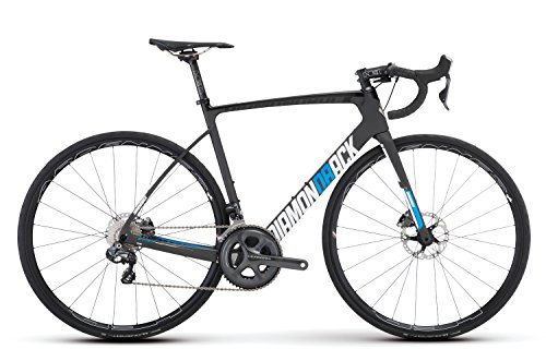 Diamondback Bicycles Podium Vitesse Di2 Disc Brake Road Bike, Raw Carbon, 54cm/Medium Diamondback Bikes
