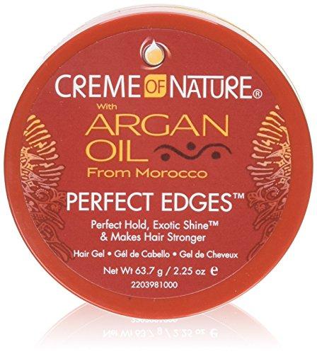 Control Creme - Creme Of Nature Argan Oil Perfect Edges Control 2.25 Ounce Jar (66ml) (2 Pack)