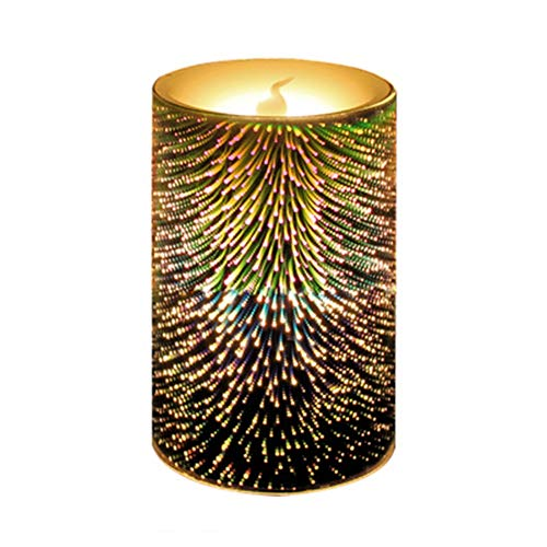 - KONVINIT Decor Candles Table Lamps Battery Powered Candles for Patio, Indoors/Outdoors, Events, Parties and Weddings (NOT INCUDE Battery)