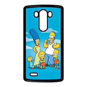 The Simpsons LG G3 Cell Phone Case Black Phone cover U8470983