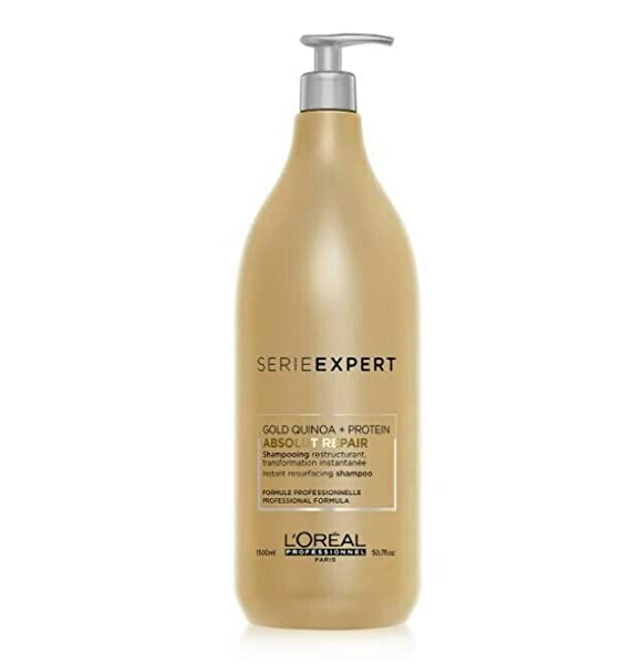 L'Oreal Serie Expert Absolut Repair Instant Resurfacing Shampoo 50.7 Ounce