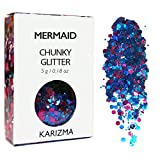 Mermaid Chunky Glitter ✮ COSMETIC GLITTER ✮ Festival Face Body Hair Nails