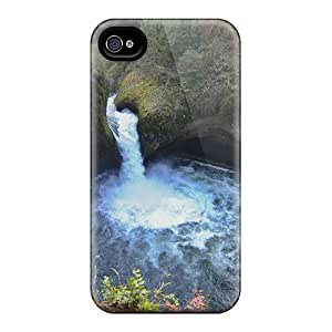Rugged Skin Cases Covers For Iphone 6- Eco-friendly Packaging(eagle Creek Trail Oregon)