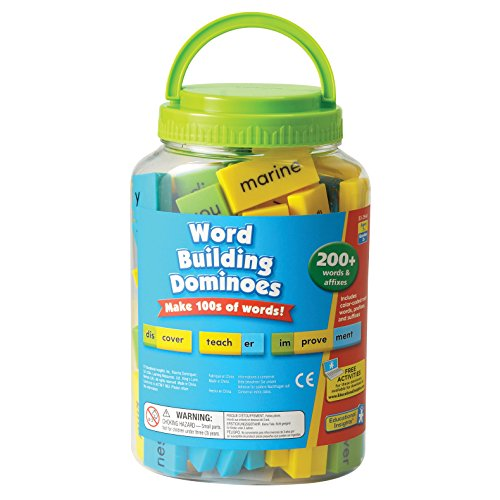 Educational Insights Word Building Dominoes by Educational Insights
