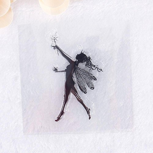 ZHUOTOP Varied MINI Little Fairy Pattern Transparent Rubber Stamp Seal DIY Album Craft Scrapbooking Decoration - Mini Album Stamp