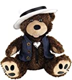 "Chantilly Lane 12″ Grizz Lee Bear with Hat and Best Sings ""Through the Years"""