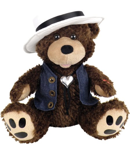 """Chantilly Lane 12″ Grizz Lee Bear with Hat and Best Sings """"Through the Years"""""""