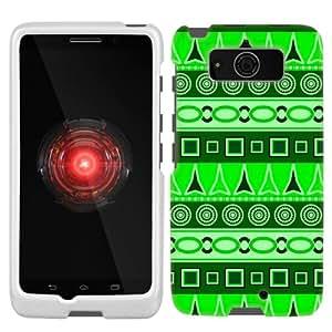 Motorola Droid Mini Aztech Green Pattern Phone Case