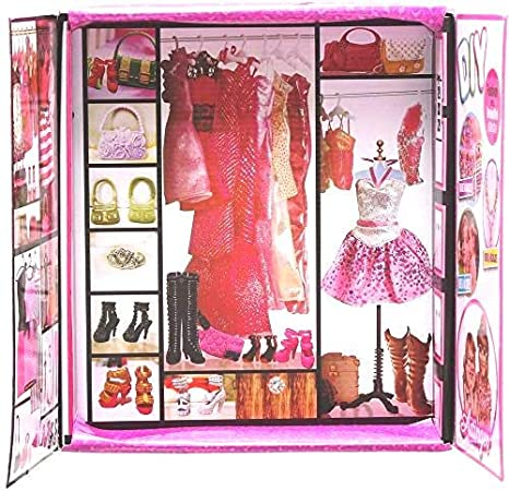 Dolls & Stuffed Toys Toys & Hobbies Delicious 20 Pcs High Quality Mini Doll Hangers Mixed Style Cute Accessories For Barbie Doll Bedroom Wardrobe Furniture Kids Gifts Toys