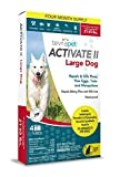 TevraPet Activate II Flea and Tick Topical, Large Dogs 21-55 Pounds, 4 Count