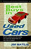 Best Buys in Used Cars, Jim Mateja, 1566250498
