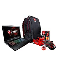 "MSI GE72MVR APACHE PRO-001 17.3"" Gaming Laptop - Intel Core i7-7700HQ (Kaby Lake), GTX1070, 16 GB DDR4, 256GB SSD +1TB HDD, Steel Series Keyboard, Win10 VR Ready + Gaming Bundle"