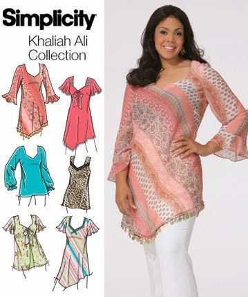 Amazon Simplicity Khaliah Ali Collection 4164 Size Gg 26w 32w