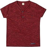 Camiseta Quintal Vermelho - Infantil 8A/Y