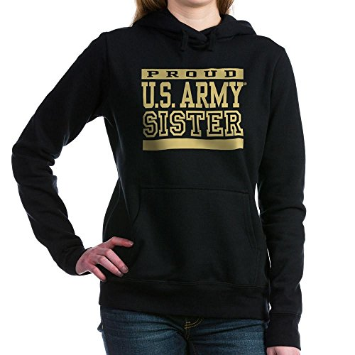 CafePress - Proud U.S. Army Sister Women's Hooded Sweatshirt - Pullover Hoodie, Classic & Comfortable Hooded Sweatshirt (Hooded Sister Army Sweatshirt)