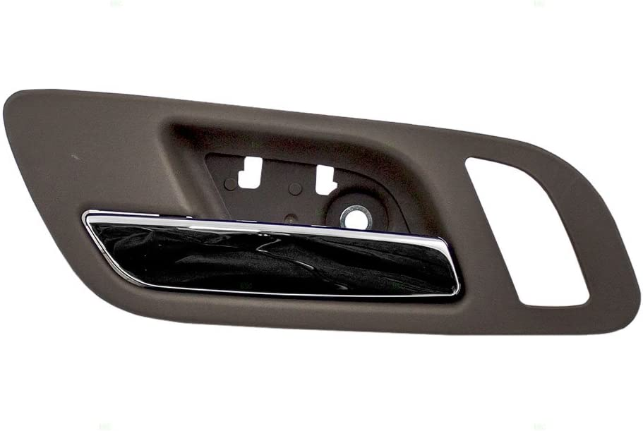 Amazon Com Replacement Drivers Front Inside Interior Door Handle Chrome Lever W Cashmere Housing Compatible With Pickup Truck Suv 22855617 Home Improvement