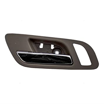 Amazon.com: Drivers Front Inside Interior Door Handle Chrome Lever w ...