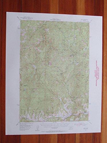 Basin Montana 1956 Original Vintage USGS Topo Map
