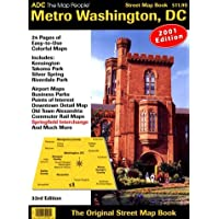 Metro Washington, D.C., Street Map Book: Includes Riverdale, Kensington, Takoma Park, Airports ...