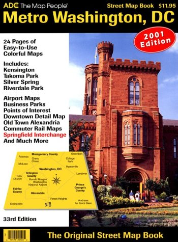 (Metro Washington, D.C., Street Map Book)