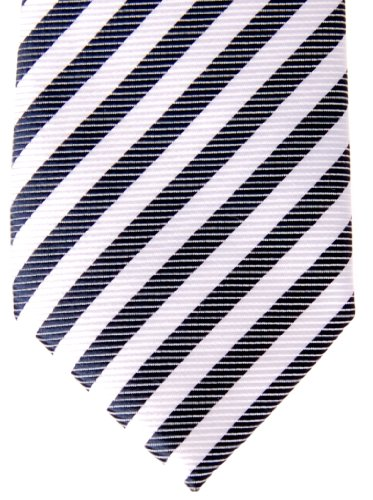 Boy's Tie Blue Striped and Navy Woven Stripe Various Retreez Pre Colors White tied FgTnxwUB