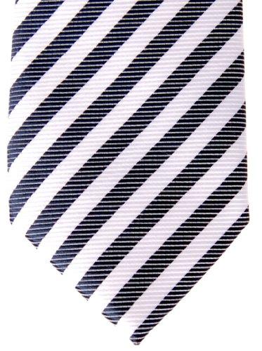 Tie Stripe Navy Colors Striped Retreez Boy's Pre Blue and Various White Woven tied HFxTcX4q