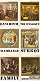 img - for 6 Volumes of Popular Judaica Library: Minor & Modern Festivals, Family, Sukkot, Marriage, The Synagogue, Hasidism book / textbook / text book