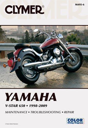 amazon com clymer repair manuals yamaha v star 650 classic v star rh amazon com 2002 yamaha v star 650 classic service manual 2005 yamaha v star 650 classic owners manual
