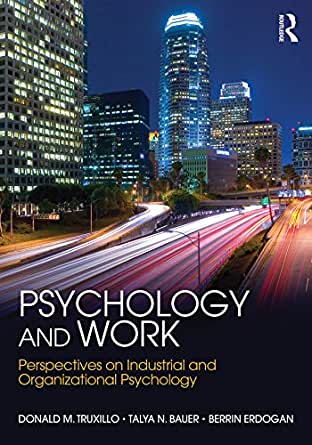 Psychology and Work: Perspectives on Industrial and